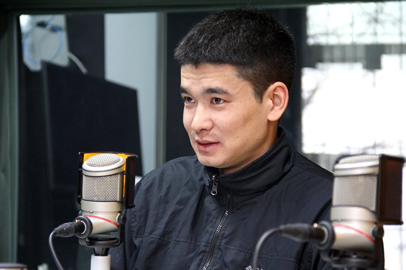 Программист и гражданский активист Болот Ибрагимов во время интервью Sputnik Кыргызстан