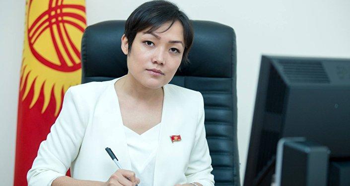 Депутат Жогорку Кенеша Аида Касымалиева