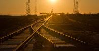 Железные дороги Казахстана. Архивное фото
