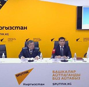 О временном закрытии рынка Дыйкан рассказали в пресс-центре Sputnik Кыргызстан