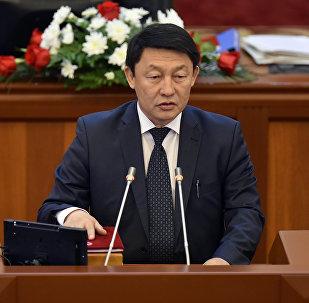 Депутат ЖК Кенжебек Бокоев. Архивное фото
