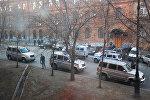 Хабаровстогу кол салган жерде полиция кызматкерлери