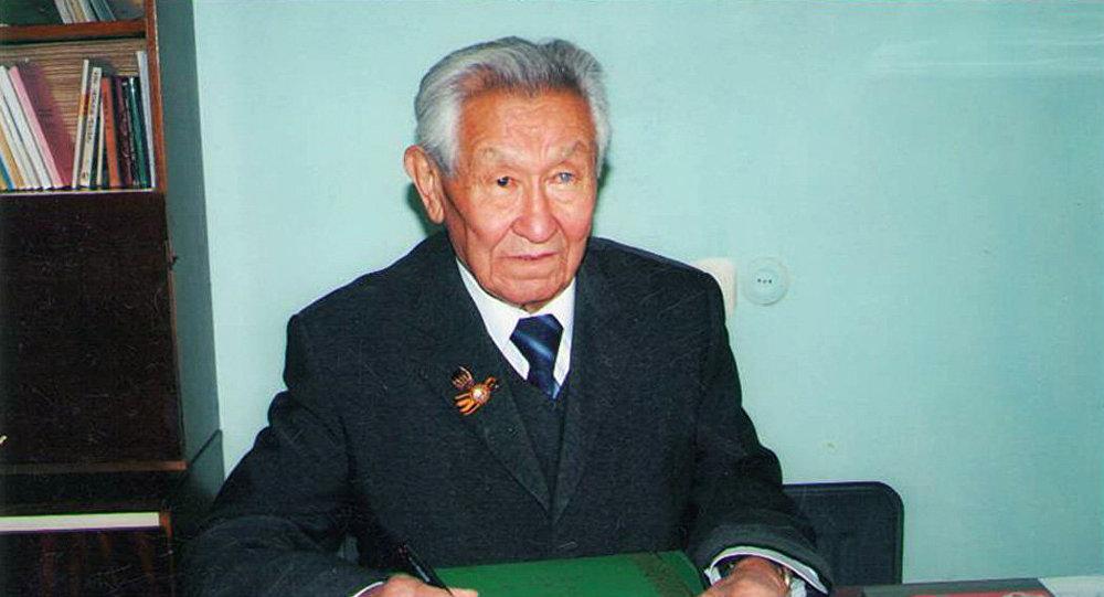 География илимдеринин доктору, академик Кайып Оторбаев