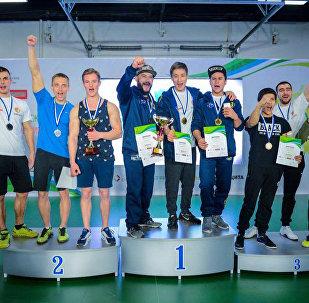 Международные соревнования по воркауту (уличный спорт) в Москве