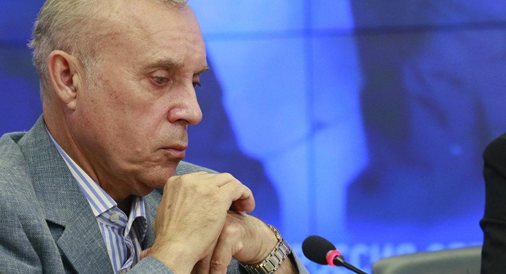 Архивное фото президента ассоциации ветеранов подразделения Альфа Сергея Гончарова