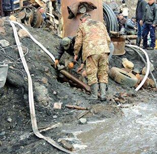Ысык-Көлдөгү көмүр шахтасынын урашы