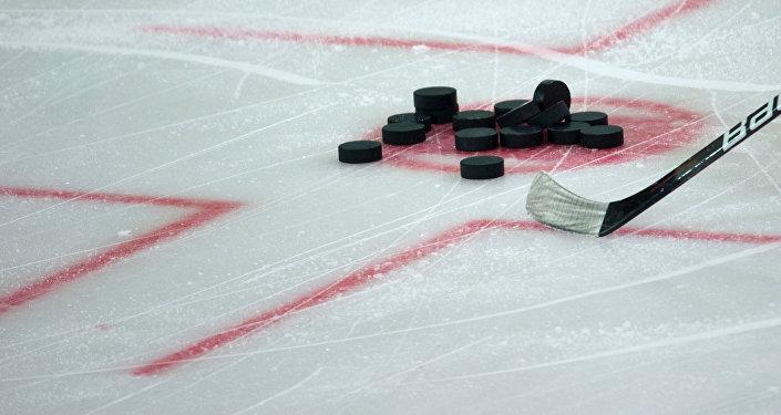 Хоккейчилер. Архивдик сүрөт