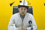 Кыргызстан дин башкармалыгынын окуу бөлүмүнүн башчысы Акимжан ажы Эргешовдун архивдик сүрөтү