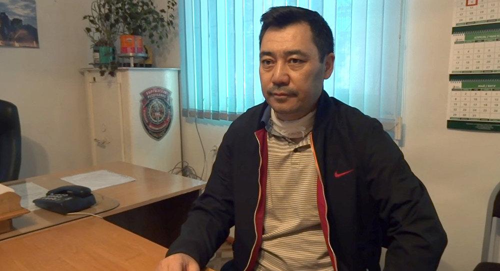 Жогорку Кеңештин мурдагы депутаты Садыр Жапаровдун архивдик сүрөтү