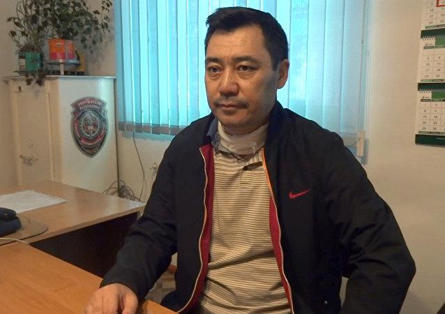 Арестованный политик Садыр Жапаров