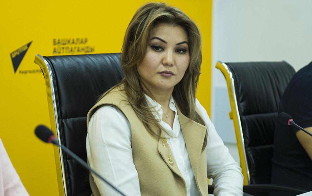 Активист Зарина Чекирбаева