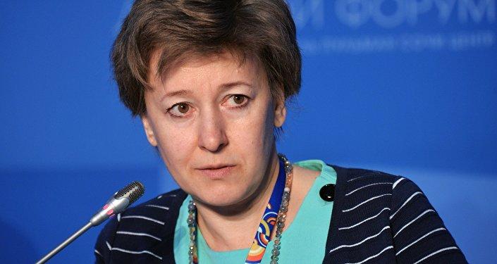 Архивное фото члена Коллегии (министр) по торговле Евразийской экономической комиссии Вероники Никишиной