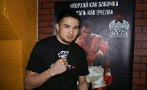 Архивное фото кыргызстанского боксера Дастана Али Шаршеева