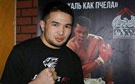 Кыргызстанский боец Дастан Али Шаршеев