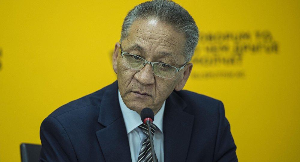 Бишкек мэриясынын маданият башкармалыгынын башчысы Мисиралы Букеев