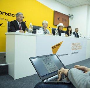 Пресс-конференция Бишкекский форум культур — соберутся гости с пяти континентов