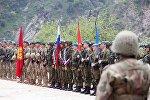 Совместные учения подразделений военной разведки государств-членов Организации договора о коллективной безопасности (ОДКБ) Поиск 2016 в Таджикистане.