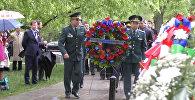 День Эльбы на Арлингтонском кладбище в США