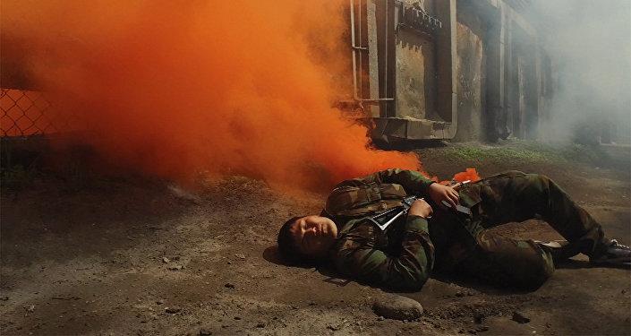 На ТЭЦ Бишкека напали террористы — захватывающее видео с учений