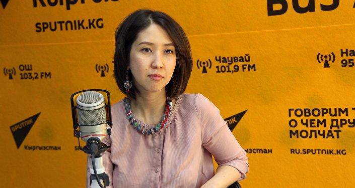 Доула Жамиля Уметалиева Sputnik Кыргызстан маек убагында