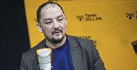 Директор лифтостроительного предприятия Стоккер Жума Абдуллаев во время интервью ИА Sputnik Кыргызстан