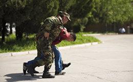 Представители силовых структур Кыргызстана на совместных командно-штабных и мобилизационных учениях на территории ТЭЦ Бишкека