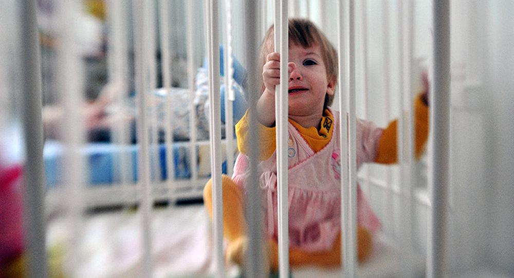 Ребенок плачет. Архивное фото