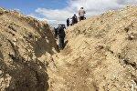 Баткен облусунда дыйкандарга зарыл болгон суу тосмо курулуп колдонууга берилди