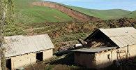 Өзгөндүн Аюу айылында 29-апрелде болгон жер көчкү. Архив