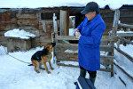 Ветеринар из села Жыргалан Шаршен Курманов. Архивное фото