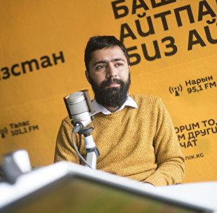 Бармен одного из столичных заведений, иранец Реза Данай во время интервью Sputnik Кыргызстан