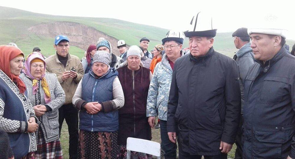 В итоге оползня вКиргизии погибли поменьшей мере 24 человек