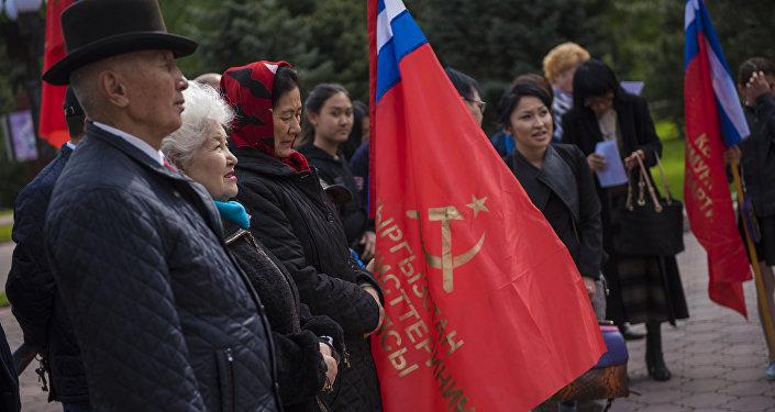 Мероприятие прошло на Старой площади Бишкека