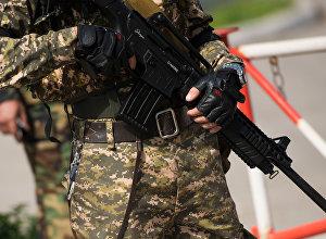 Учения спецназа в Бишкеке