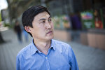 Бишкектик блогер Адилет Ногойбаев . Архивдик сүрөт