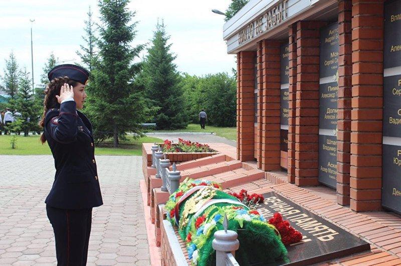 Курсант академии МВД в городе Омск Жылдыз Жумабаева