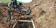 Последствия схода оползня в селе Аюу Узгенского района