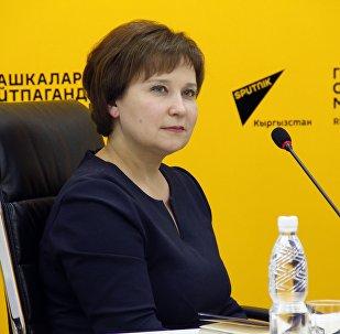 Координатор акции в Бишкеке Зульфира Хайбуллина. Архивное фото