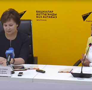 Об акции Бессмертный полк рассказали в пресс-центре Sputnik Кыргызстан
