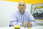 Профессор из Кырызстана Нурлан Наматов во время интервью Sputnik Кыргызстан