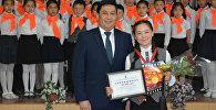 Ученица бишекской средней школы №77 Мунара Рахатбек кызы завоевала золото Чемпионата мира по мас-рестлингу среди юниоров