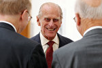 Архивное фото британского принца Филиппа