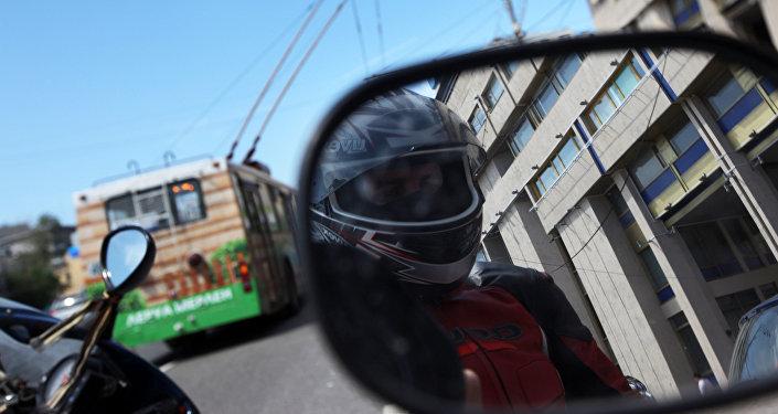 Мотоциклист. Архив