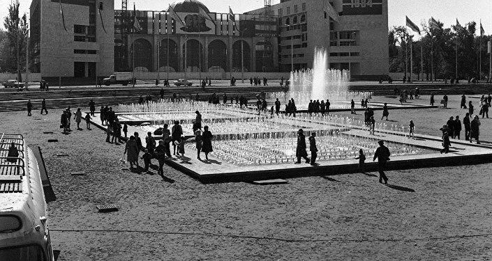 Город Фрунзе. Архивное фото