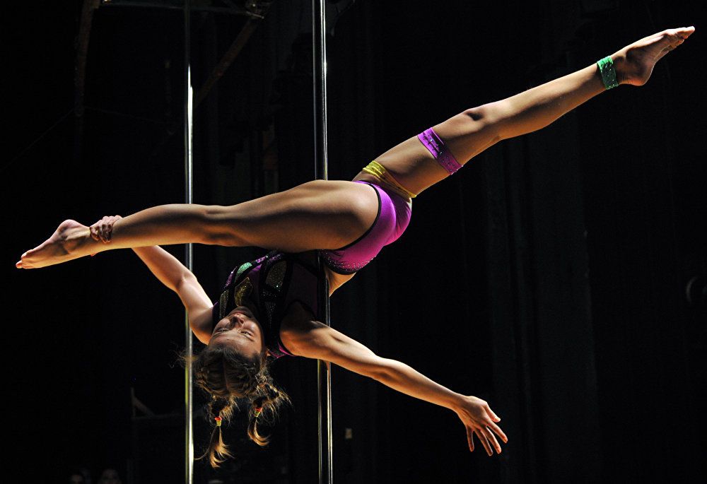 Акробатика боюнча республикалык VIII чемпионатынын катышуучусу. Бишкек шаары