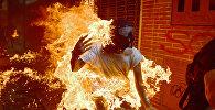 Акции протеста против президента Венесуэлы Николаса Мадуро в Каракасе