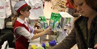 Работа одного из супермаркетов Новосибирска