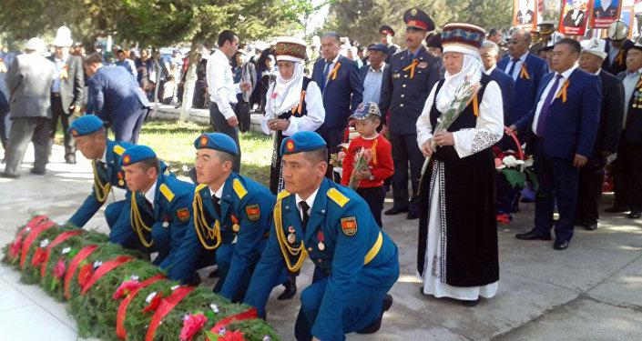 Акцию Бессмертный полк подхватили и в Баткене.