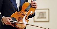 Скрипка Макдональд сделанная Антонио Страдивари в 1719 году. Архивное фото