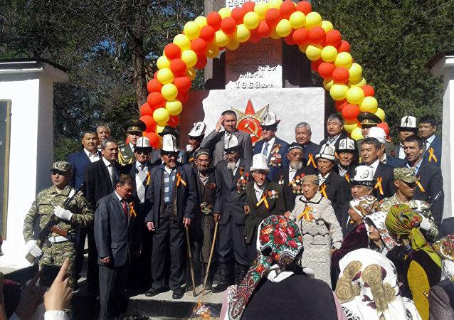 Праздничные мероприятия ко дню празднования 72-годовщины Победы ВОВ в Джалал-Абаде